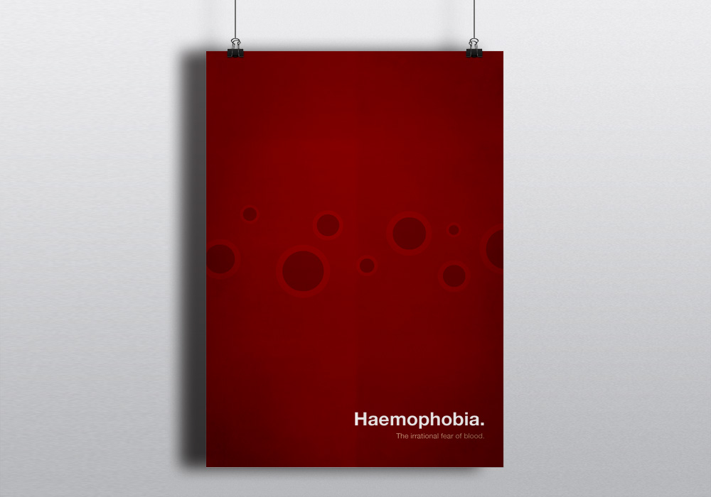 haemophobia; The irrational fear of blood