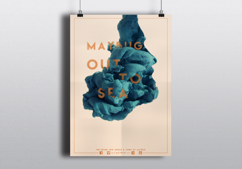 out to sea maybe poster